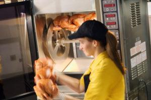 Rotisserie de pollos