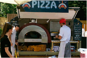 Hornos de Pizza para Food Trucks